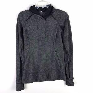 Lululemon Fitted Half Zip Running Sweater 6 #1835